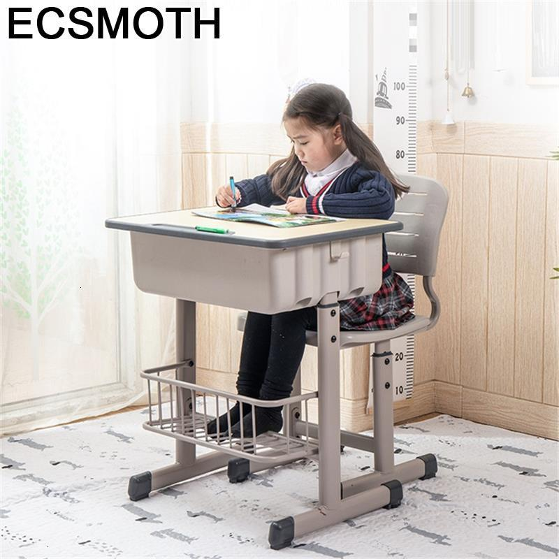Avec Chaise Children And Chair De Estudio Tavolo Bambini Baby Adjustable Kinder Mesa Infantil Enfant Study Table For Kids