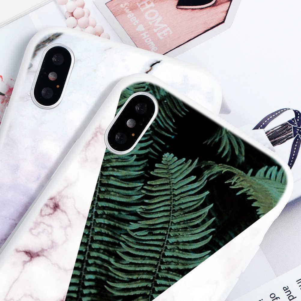 Matte Impressão de Mármore Silicone Macio TPU Casos de Telefone Para o iphone 7 8 6 6S Plus XR X 11 XS max 5S SE Case Para iPhone 5 11 Pro Max Capa