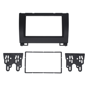 Image 1 - 11 274 Car Radio Fascia For GREAT WALL Hover (Haval) H3 H5 X240 Stereo Double 2 Din Fascia  Frame Dash CD Trim Installation Kit