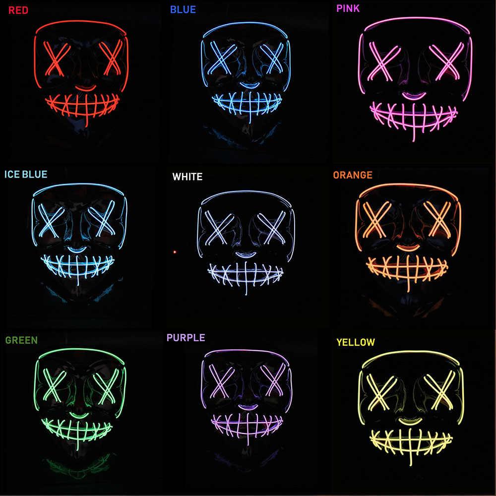 Light Up Anonymous Mask Punkie