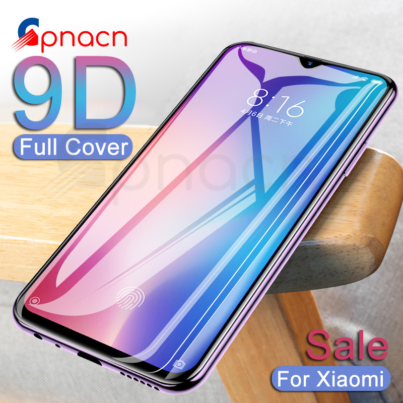9D Protective <font><b>Glass</b></font> For <font><b>Xiaomi</b></font> <font><b>Mi</b></font> <font><b>9</b></font> 8 SE 9T Pro A3 A2 Lite Tempered <font><b>Screen</b></font> <font><b>Protector</b></font> For <font><b>Xiaomi</b></font> <font><b>Mi</b></font> CC9 CC9E Play F1 <font><b>Glass</b></font> Film image