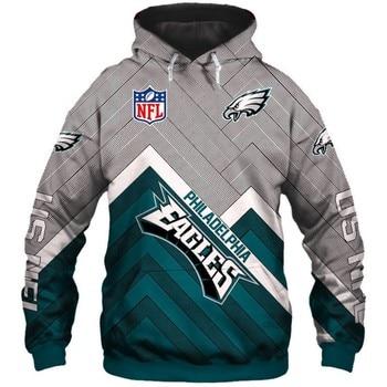 Rugby Hoodie Team Logo Print Men Warm Hooded Streetwear Sweatshirt America Football Hoodies Male Outdoor Sport Hoody 2021 New 2