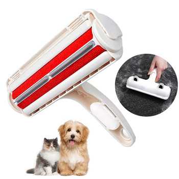 2 Way Pet Hair Remover Roller For Cats And Dogs  1