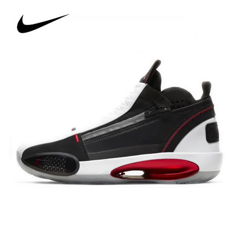 Sport Shoes Nike Air Jordan 34 SE PF Red Orbit 2020 Men's Basketball Shoes High-top Jordan Basketball Sneakers CU1548-001