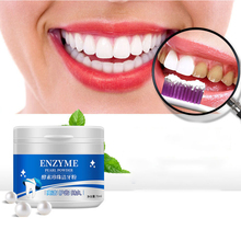 Enzyme Pearl Tooth Cleansing Powder Natural Teeth Whitener| Teeth Whitening Toothpaste Tooth Powder Stains Remover| Oral Care
