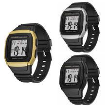 Zegarek meski – montre de sport multifonctionnelle pour hommes, résistante aux chocs et étanche, pour étudiant, horloge électronique pour l'extérieur