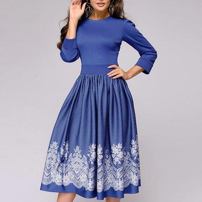 Женское весеннее элегантное платье с короткими рукавами, модное приталенное платье с круглым вырезом, женское платье