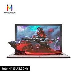 Ультратонкий офисный ноутбук MaiBenBen XiaoMai 5 15,6 4415U/TN экран/GT940MX видеокарта/DOS/серебристый деловой портативный ноутбук