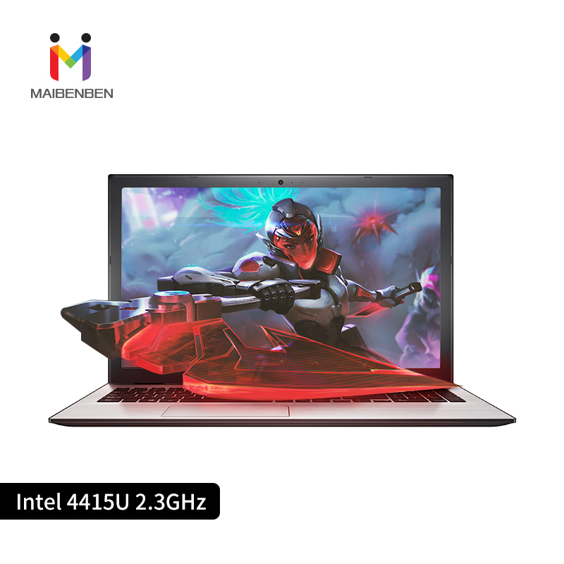 MaiBenBen XiaoMai 5 per Ufficio Del Computer Portatile di Intel 4415U + GT940MX (1G) scheda grafica/DOS/Argento 15.6