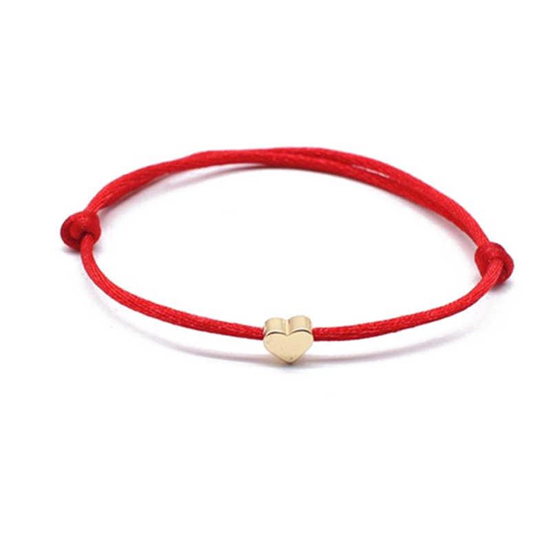 قابل للتعديل سلسلة أساور للنساء الرجال الأحمر حبل أسود شارة نجمة حبة تاج قلادة سوار حلية زوجين المجوهرات Gitfs