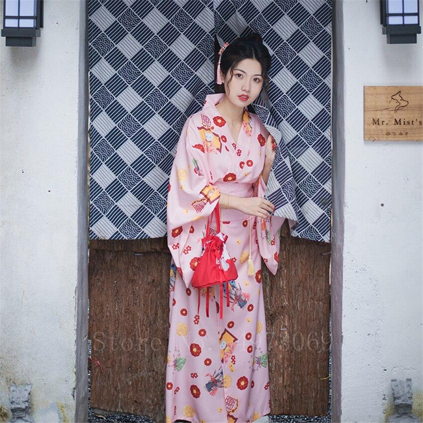 Kimono de mujer vestido de estilo tradicional japonés elegante de impresión para fiesta de año nuevo estilo Retro nacional Haori Figura de anime original japonesa FGO/Gran Orden figura de acción Astolfo juguetes coleccionables para niños