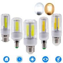 10 шт. светодиодный COB кукурузный светильник E14 E12 B22 E26 светодиодный светильник люстра для светодиодное освещение для дома лампа Замена 60 Вт 100 Вт галогенная 85-265 в