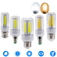 10PCS LED COB Corn Lamp E14 E12 B22 E26 LED Light Bulb Chandelier For Home Lighting LED Bulb Replace 60W 100W Halogen 85 265V