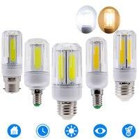 10PCS LED COB Corn Lamp E14 E12 B22 E26 LED Light Bulb Chandelier For Home Lighting LED Bulb Replace 60W 100W Halogen 85 265V
