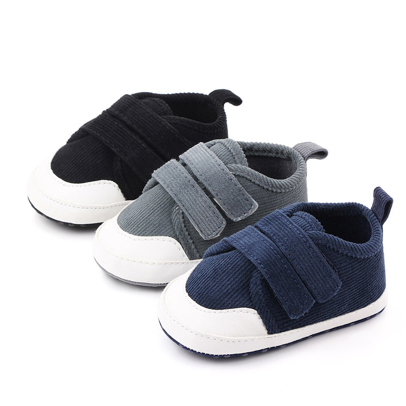 0-18M Newborn Baby Boy Shoes Cotton Soft Sole Antiskid Shoes For Boys Infant Baby Pre Walking Shoes Zapatos Bebe F104