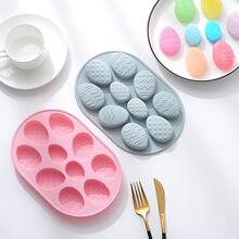 Kaninchen Silikon Mold Ostern Tag Serie Schokolade Backen Epoxy Form Molde de pastell