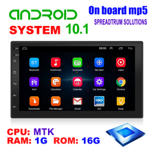 9210S Android 10,1 Auto Radio Multimedia Video Player 7 zoll Bildschirm Auto Stereo Doppel 2 DIN WiFi GPS Kopf einheit Auto Stereo
