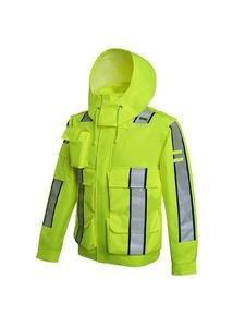 Raincoat Jacket Cycling Safety Waterproof Reflective Bicicleta Bike Long-Sleeve Motocross