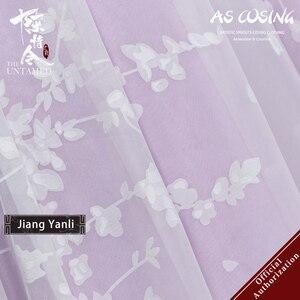 Image 3 - Uwowo TV serisi Mo Dao Zu Shi en olgunlaşmamış Jiang Yanli Cosplay kostüm antik kadın giysisi aksesuarları ile
