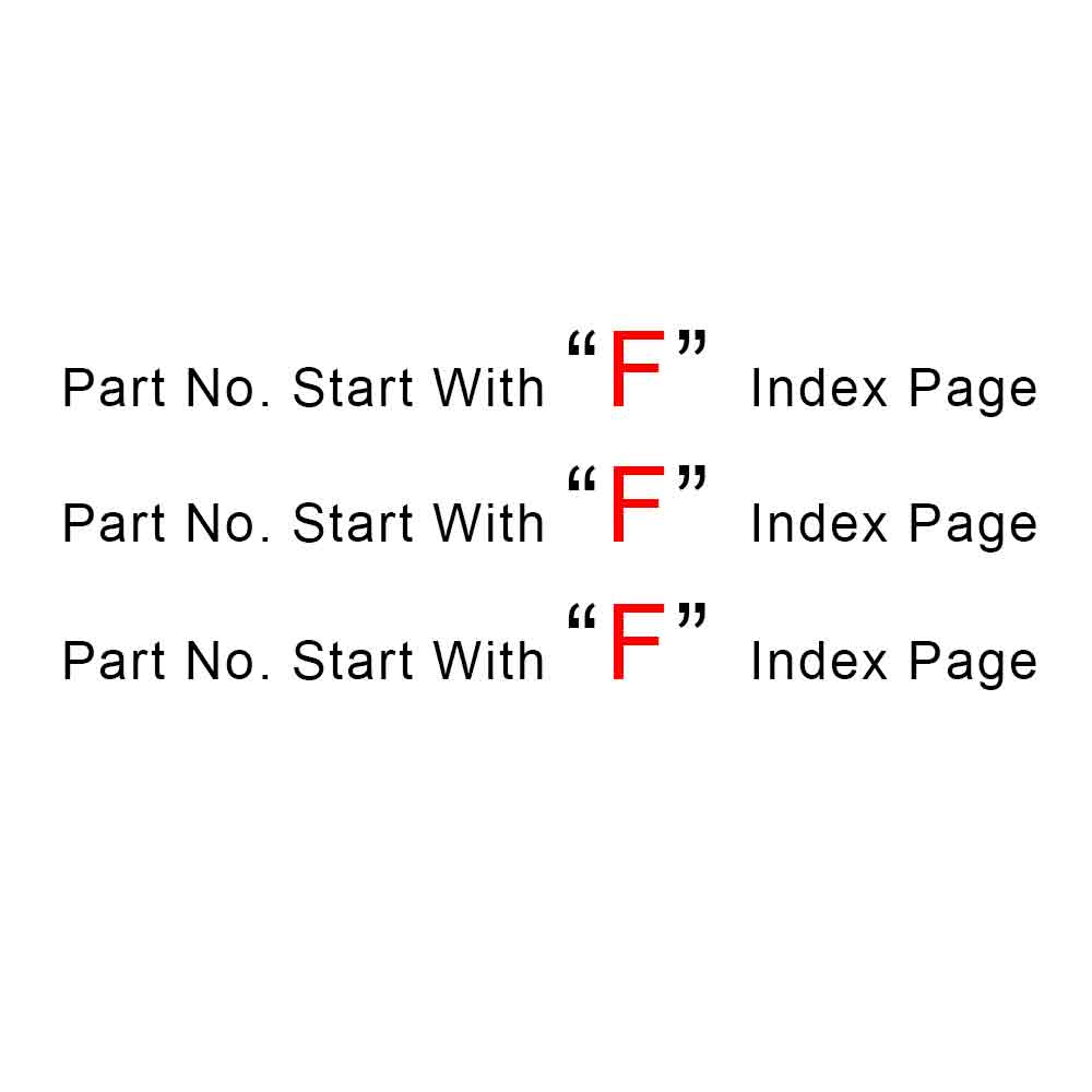 Start With F Index Page
