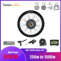 Pasion Ebike Electric Bike Conversion Kit 48V 1000W 1500W Rear Motor Wheel for 26 Bicycle Electric Conversion Kit