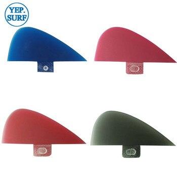 SUP Surf Paddling Center  Kneel Fin Fibreglass Red/blue/black Fins Quilhas FCS VS Knubster Keel Set X Small Red