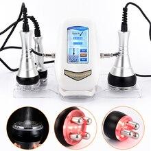 Ультразвуковая кавитационная машина для похудения и сжигания жира, профессиональная радиочастотная машина 40K для снижения веса, инструмент против морщин