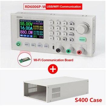 Fuente de alimentación de DC-DC 60V, 6A RD6006P RD6006PW, convertidor Buck, multímetro, wifi, usb 1