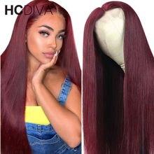 Parte do meio do laço parte perucas de cabelo humano 28 wigs wigs parte do laço perucas pré arrancadas com o cabelo do bebê 150% brasileiro 13*1 parte do laço remy perucas