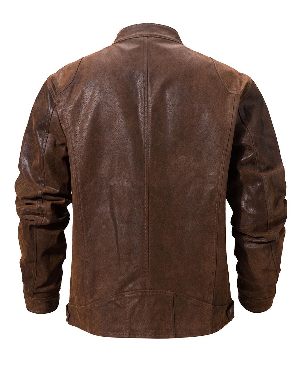 H266c708496784c7e85924f27c7030fcbw Men's Pigskin Real Leather Jacket Motorcycle Jacket Coat Men