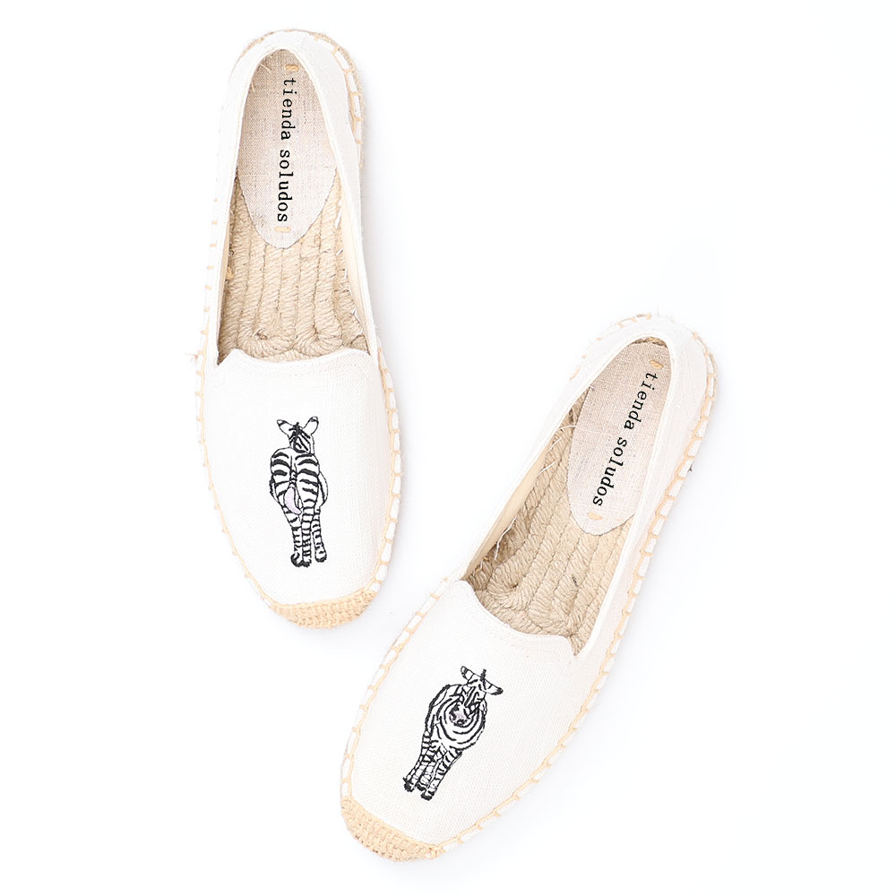 Womens Espadrilles Flat Shoes