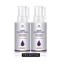 Haircube 2 pçs rápido crescimento do cabelo essência spray parar perda de cabelo líquido danificado tratamento ajuda para cuidados com o cabelo reparação crescente