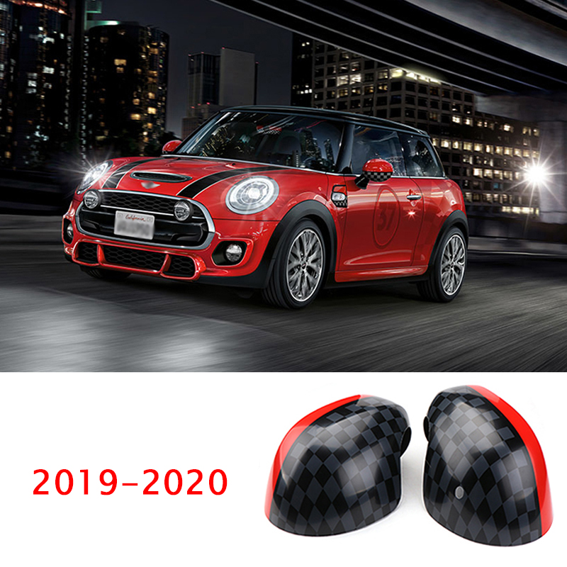 For 2019 2020 New MINI ONE COOPER S F54 F55 F56 F60 Rear-view mirror housing Reversing mirror shell decorative protective cover