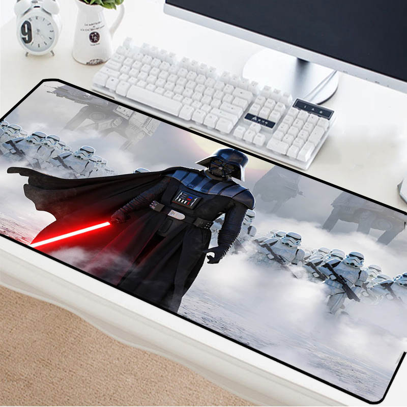 Mairuige Star Wars Mouse Pad Multi Size Choice Desk Mat High Quality Rubber Keyboard Pad