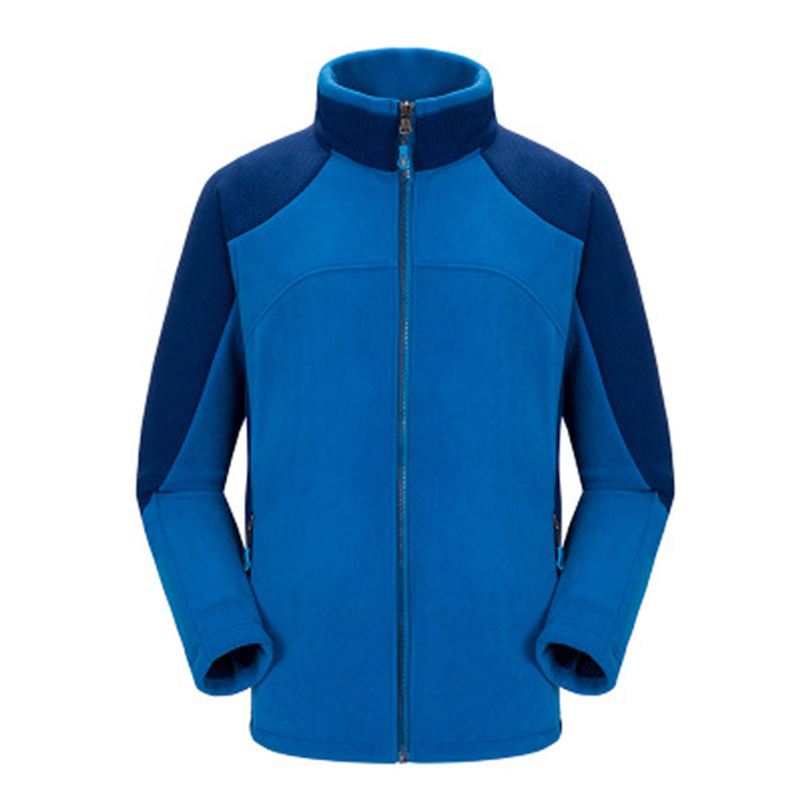 Men Women's Fleece Hiking Jackets Autumn Winter Outdoor Sport Trekking Climbing Camping Thermal Male Coats