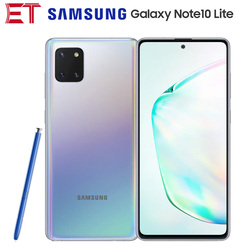 Глобальная версия Samsung Galaxy Note10 Lite N770F-DS 4G мобильный телефон 8 Гб + 128 Гб OctaCore 6,7 дюйм1080x2400P 4500 мА/ч, 12MP NFC Android 10