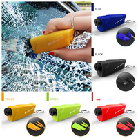 Auto sicherheit leben sitz gürtel schneiden schlüssel rettungs Glas flucht Glas Brechen die glas unterwasser flucht Die tür nicht werden geöffnet