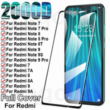 9H Protection Glass For Xiaomi Redmi 8 8A 7 7A 9 9A 9C 9T Tempered Screen Protector Redmi Note 7 8 9 Pro 8T 9S Safety Glass Film