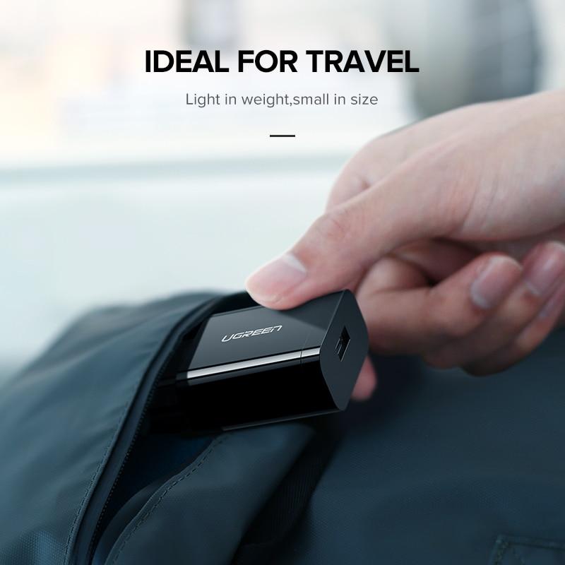 Ugreen USB γρήγορη φόρτιση 3,0 QC 18W USB - Ανταλλακτικά και αξεσουάρ κινητών τηλεφώνων - Φωτογραφία 6