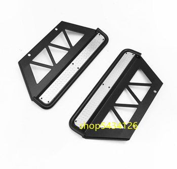Metal Side Sliders For 1/10 Rc 4WD TF2 LWB Chassis + Killerbody LC70 Body