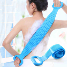 Magic Silicone Bath Brush Towels for Rubbing Back Mud Peeling Body Massage Shower Scrubber Skin Clean Brushes