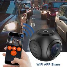 New screenless WIFI driving recorder car dvr A9D single lens cámara para aut  GPS HD 1080P Dash for Android Car