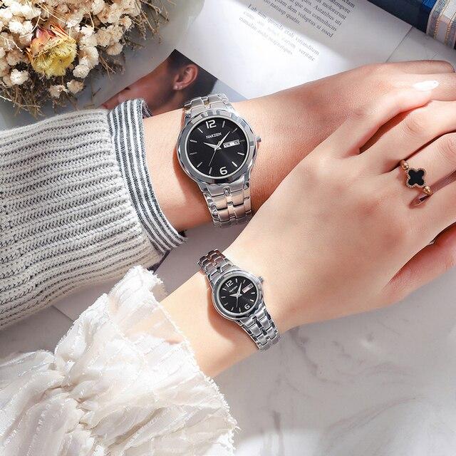 часы наручные nakzen мужские кварцевые брендовые роскошные водонепроницаемые фотография