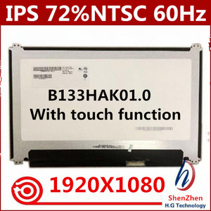 "13.3"" LCD TouchScreen Digitizer Replacemente Laptop Display Panel 72%NTSC IPS B133HAK01.0 1920x1080 40 PIN(China)"