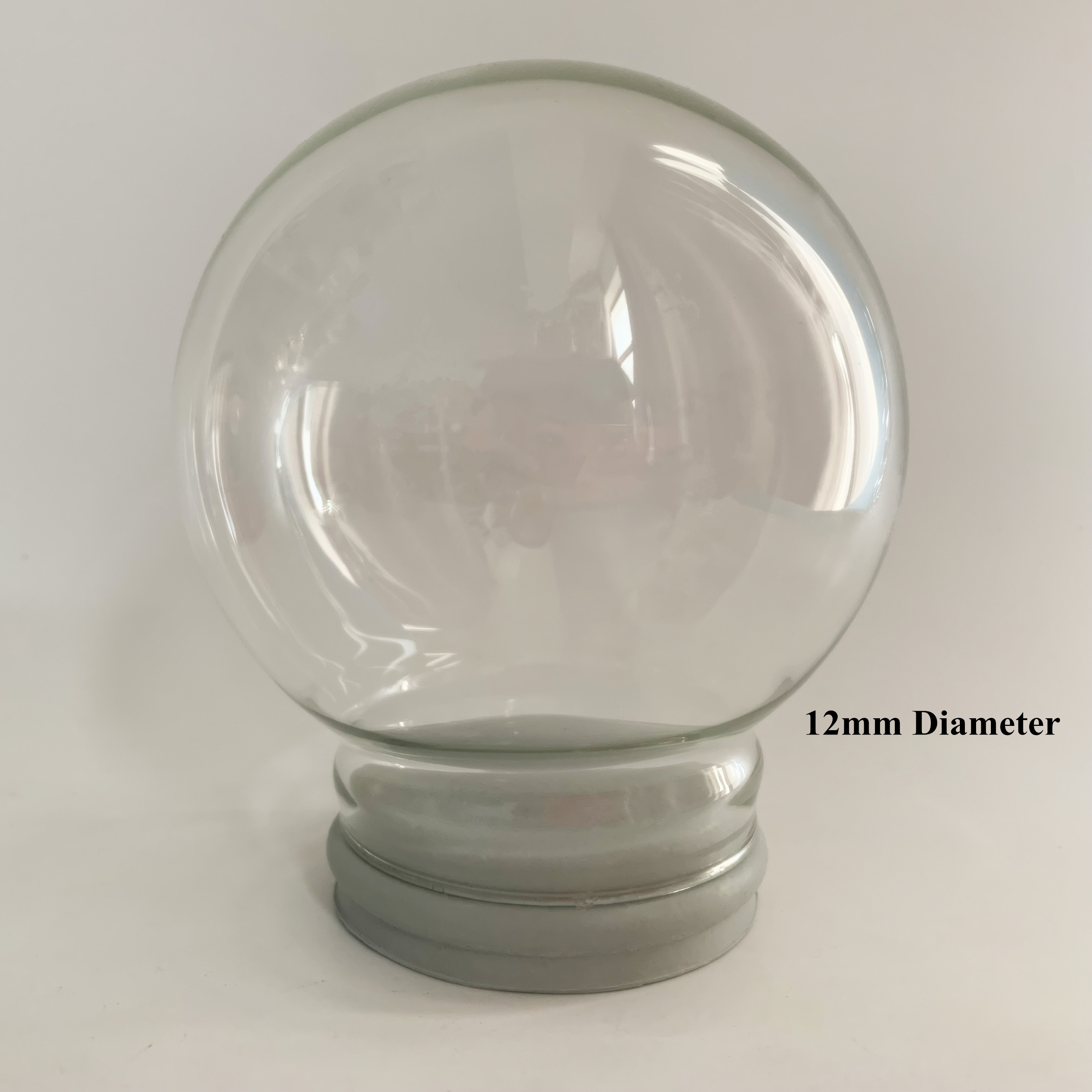 Promotional Gift 120 Mm Diameter DIY Empty Glass Snow Globe Wholesales