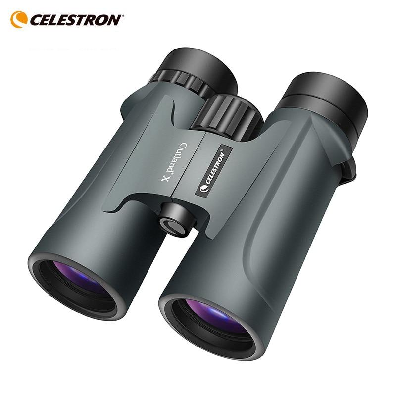 Celestron Outland X 8x42 10X42 greenBinoculars Waterproof & Fogproof Binoculars for Adults Multi-Coated Optics and BaK-4 Prisms