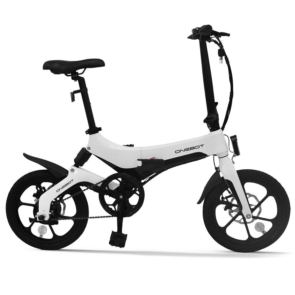 16 дюймов складной электрический велосипед Мощность помочь мопед Электрический велосипед для е-байка 250 Вт мотор и двойной дисковые тормоза