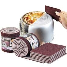 Волшебная меламиновая губка Carborundum кухонная губка Ластик для сковороды блюдо кухонные губки посуда чистящие средства для дома