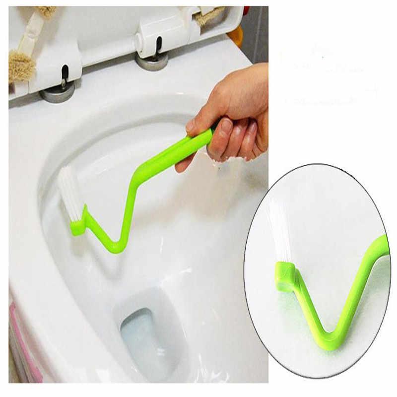 2019 1 قطعة الخامس شكل فرشاة تنظيف حمام تعليق باليد تنظيف فرشاة اكسسوارات الحمام أدوات تنظيف المنزل