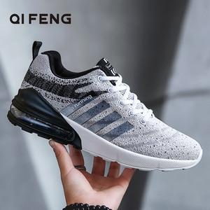 Image 1 - Neue Mode Sport Männer Schuhe Laufen Outdoor Sneaker Licht Gewicht Bequeme Schuhe Für Mann Schuh Jogging Turnschuhe
